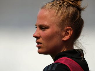 Everton's new signing Leonie Maier