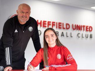 Kasia Lipka signing new Sheffield United contract