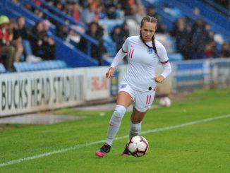 Lucy Watson scored twice for England U19s