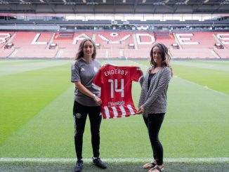 Sheffield United's new signing, Mia Enderby