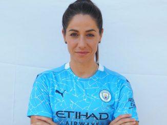 MNan City's new signing, Vicky Losada