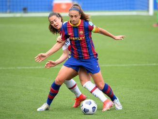 UEFA Women's Player of the year, Alexia Putellas