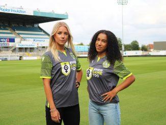 Bristol Rovers in HerGameToo away shirts