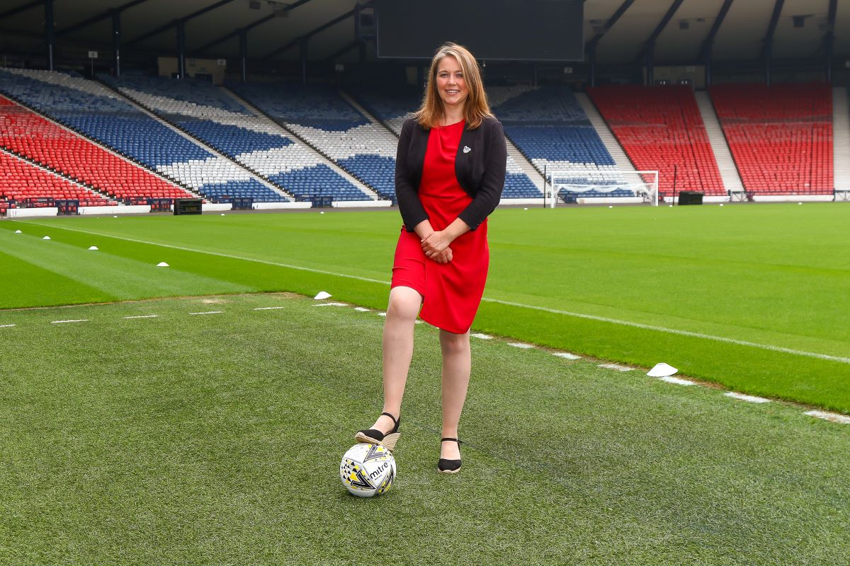 Executive Officer for Scottish Women's Football, Aileen Campbell