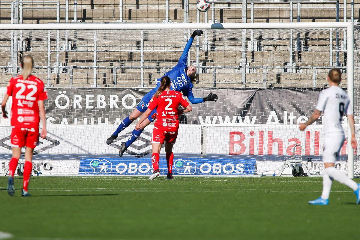 Everton's new signing, Cecilia Ran Runarsdottir