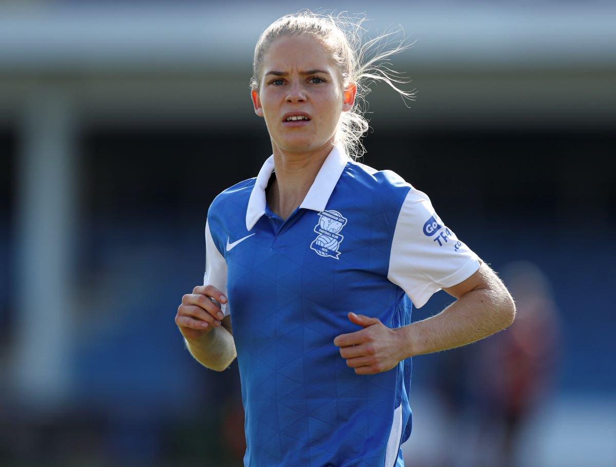 Leicester City's new signing, Connie Scofield