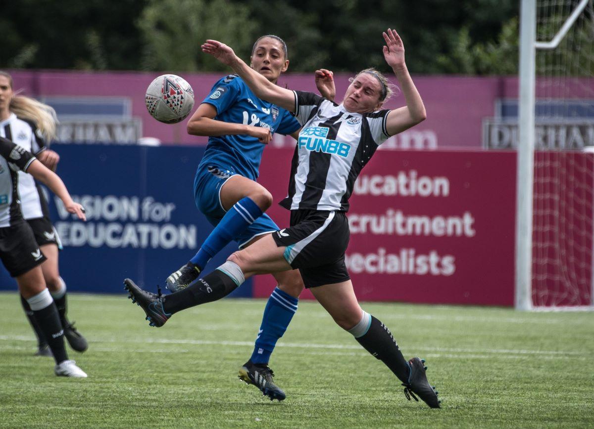 Durham defeated Newcastle United 8-0