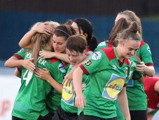 Glentoran reached the Electric Ireland Women's Cup Final