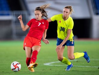 Julia Grosso scored Canada's winning penalty