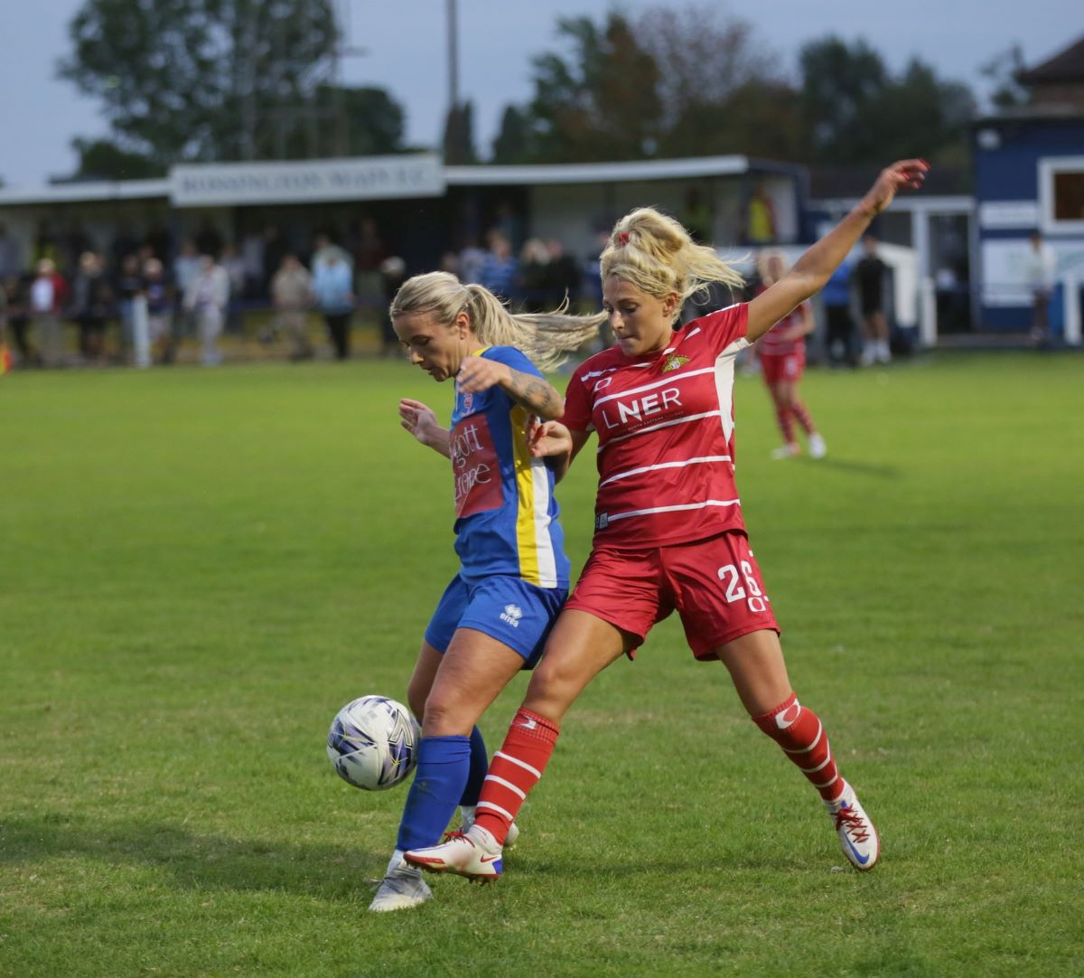 Lincoln City won 5-2 at Doncaster Rovers Belles