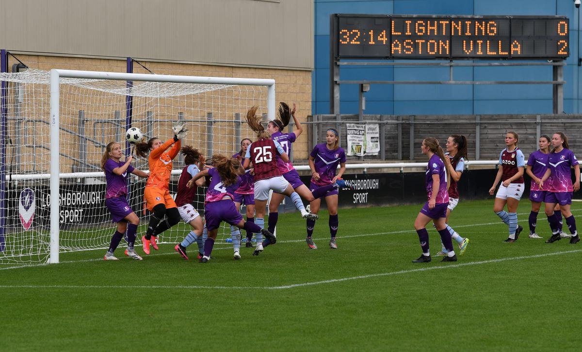 Loughborough Lightning fue sede de la Aston Villa Academy