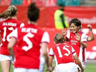 Arsenal's two-goal mana Iwabuchi