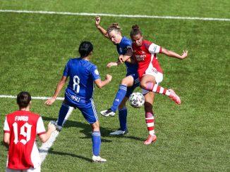 Arsenal won their UWCL 1st Rd semi-final