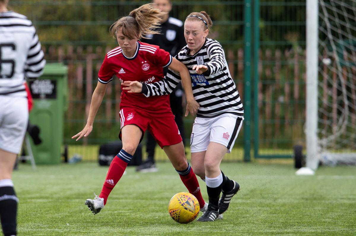 Aberdeen ganó 4-0 en Queen's Park