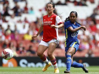Chelsea's Reanna Blades scores