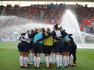England huddle at St Mary's