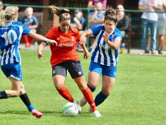 Wroxham beat Luton Town 4-2