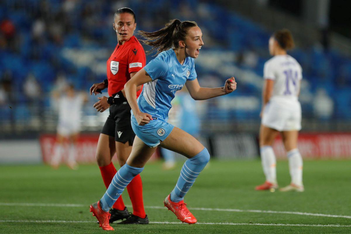 Man City goalscorer Caroline Weir