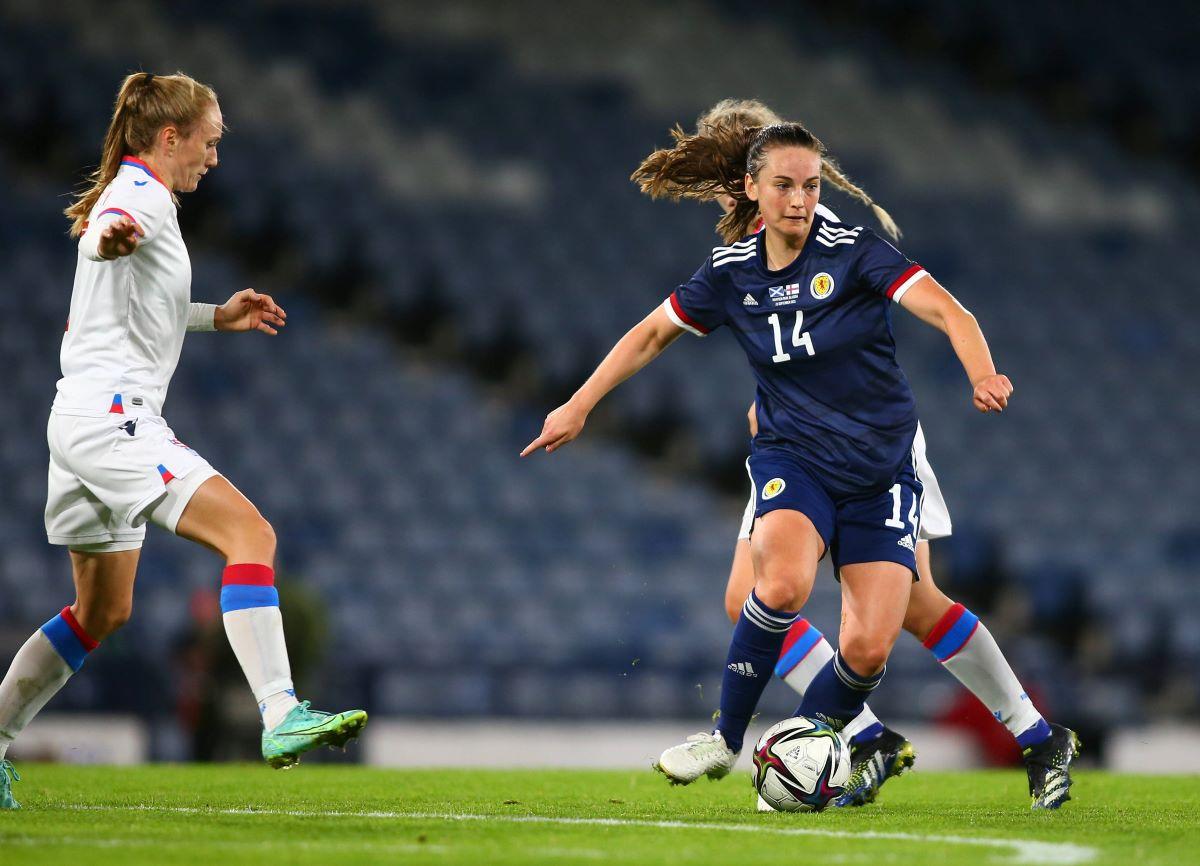 Scotland's Chloe Arthur