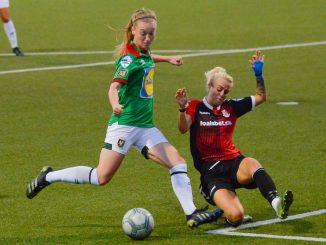 Glentoran won 2-0 at Crusaders Strikers