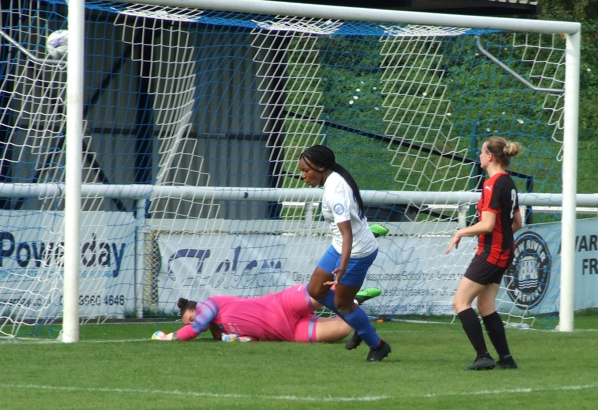 Enfield Town score against Actonians