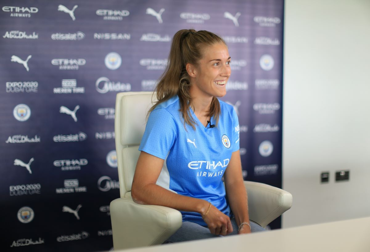 Man City's new signing, Fillippa Angeldahl