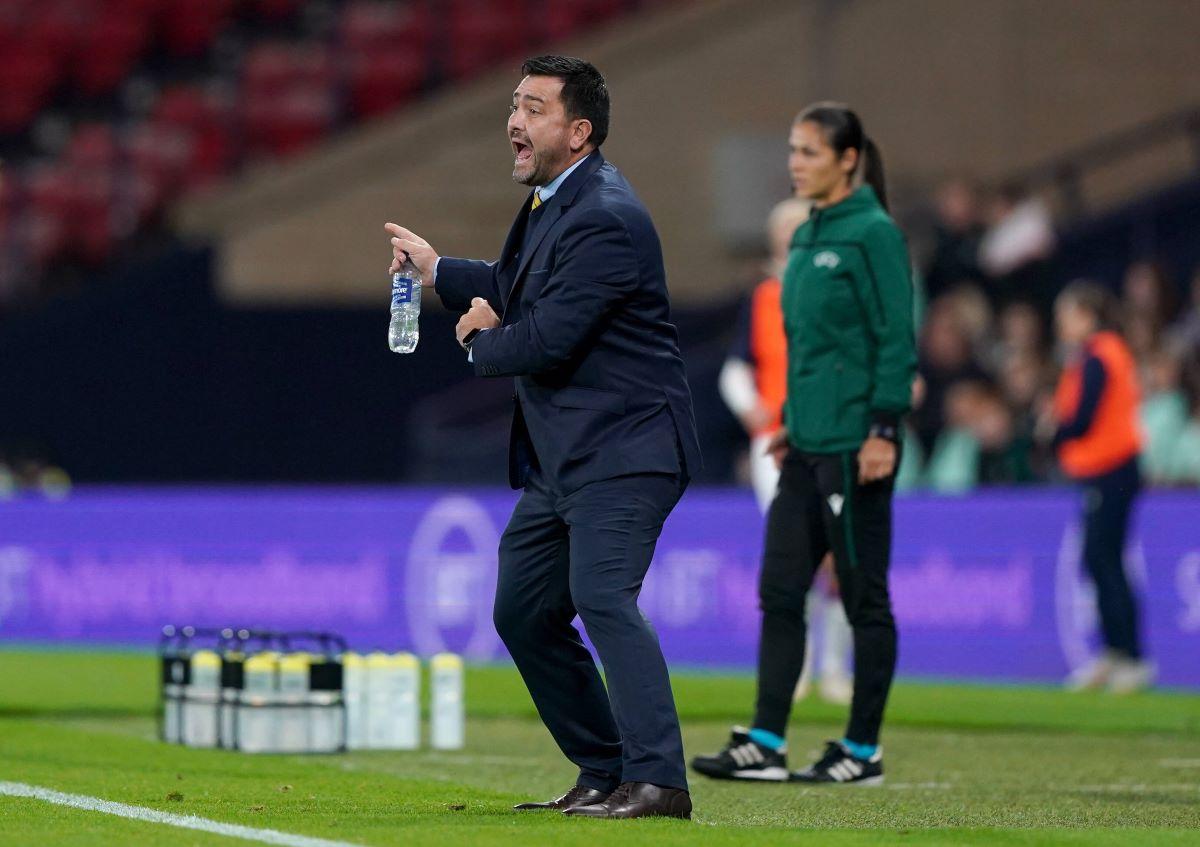 Scotland head coach, Pedro Martinez Losa