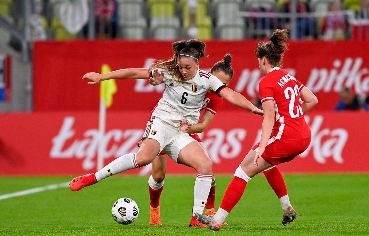 Poland drew 1-1 with Belgium