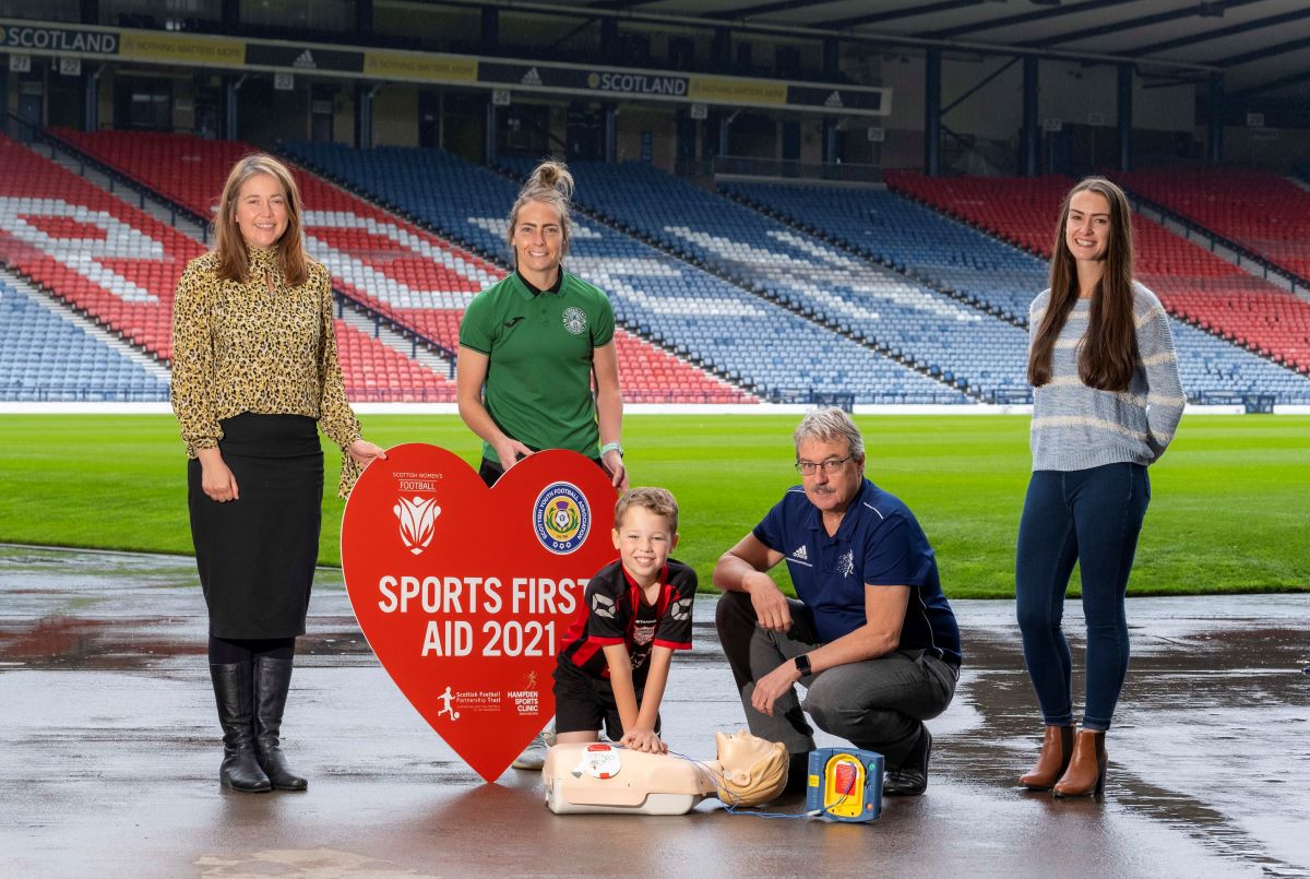 SFP Trust Sports First Aid launch