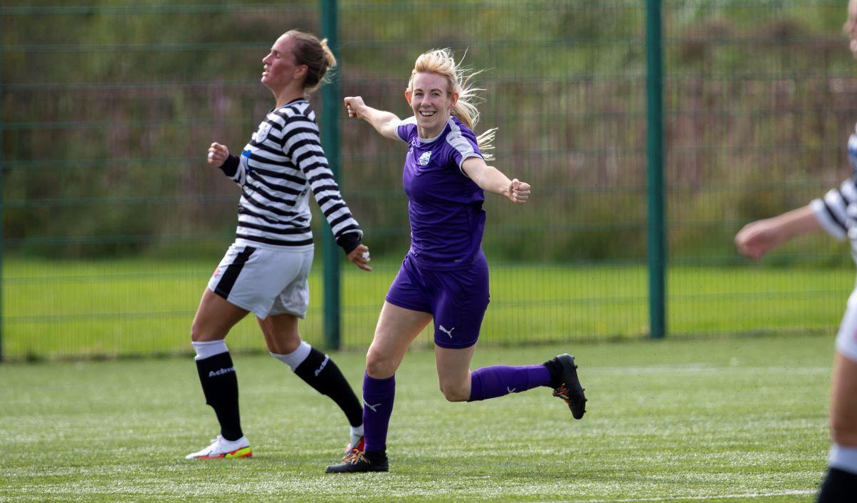 Boroughmuir Thistle's two-goal Sammy Duncan