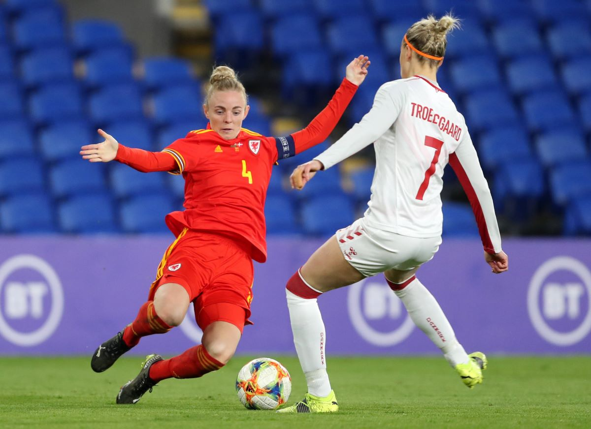 Wales captain Sophie Ingle