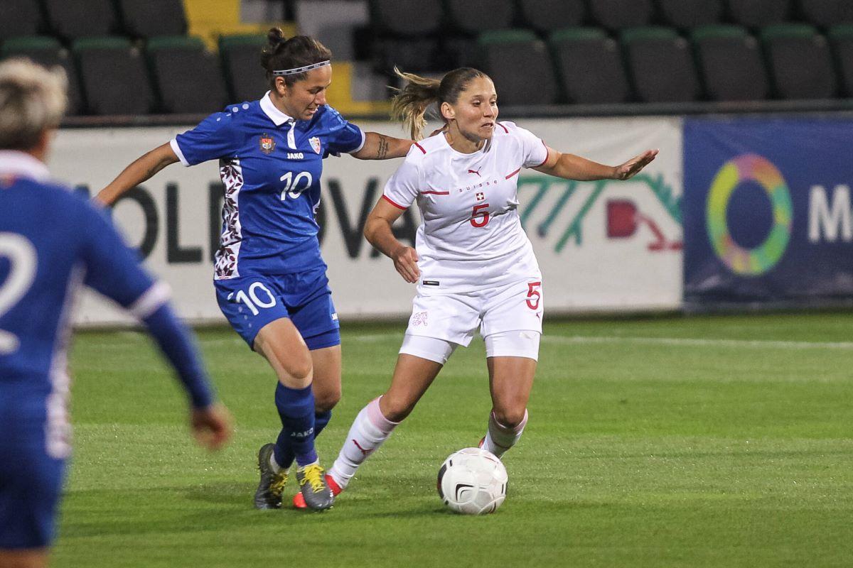 Suiza ganó 6-0 en Moldavia