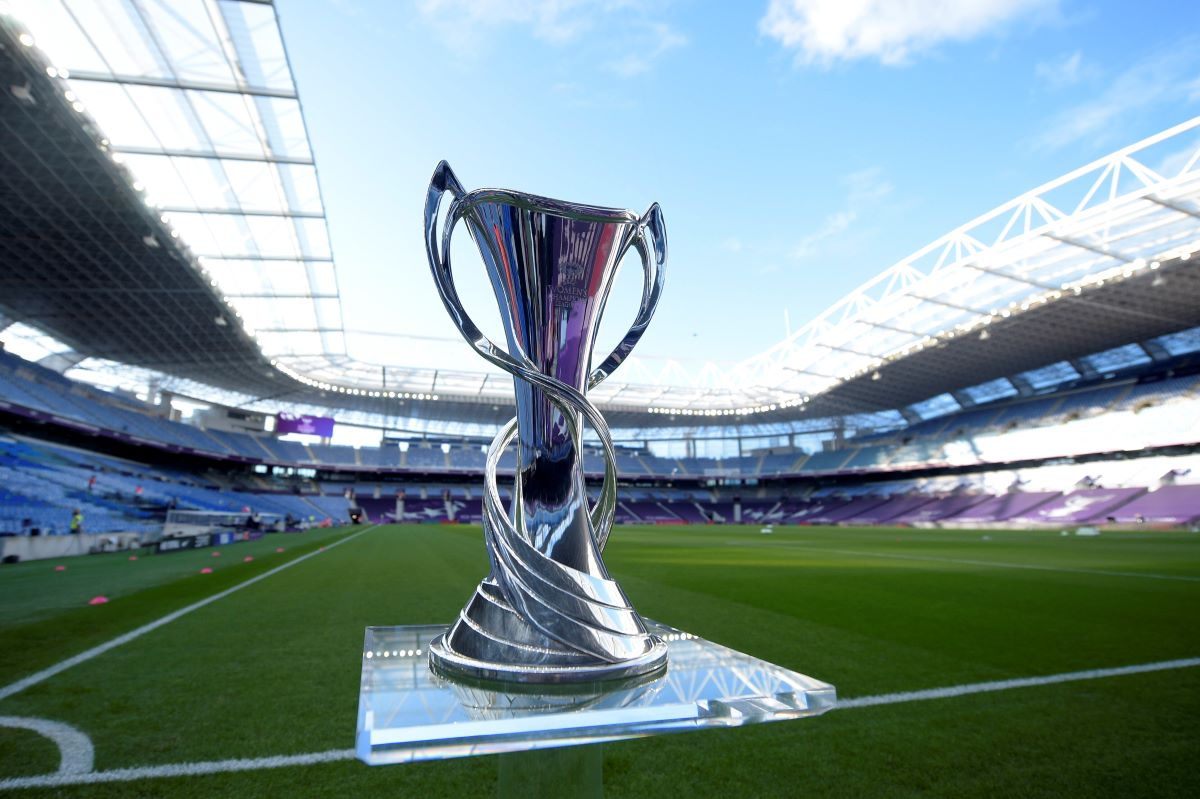 The UWCL trophy