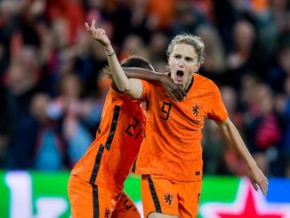 Vivianne Miedema scored a late leveller for the Netherlands