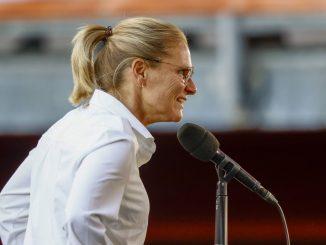 England head coach, Sarina Wiegman