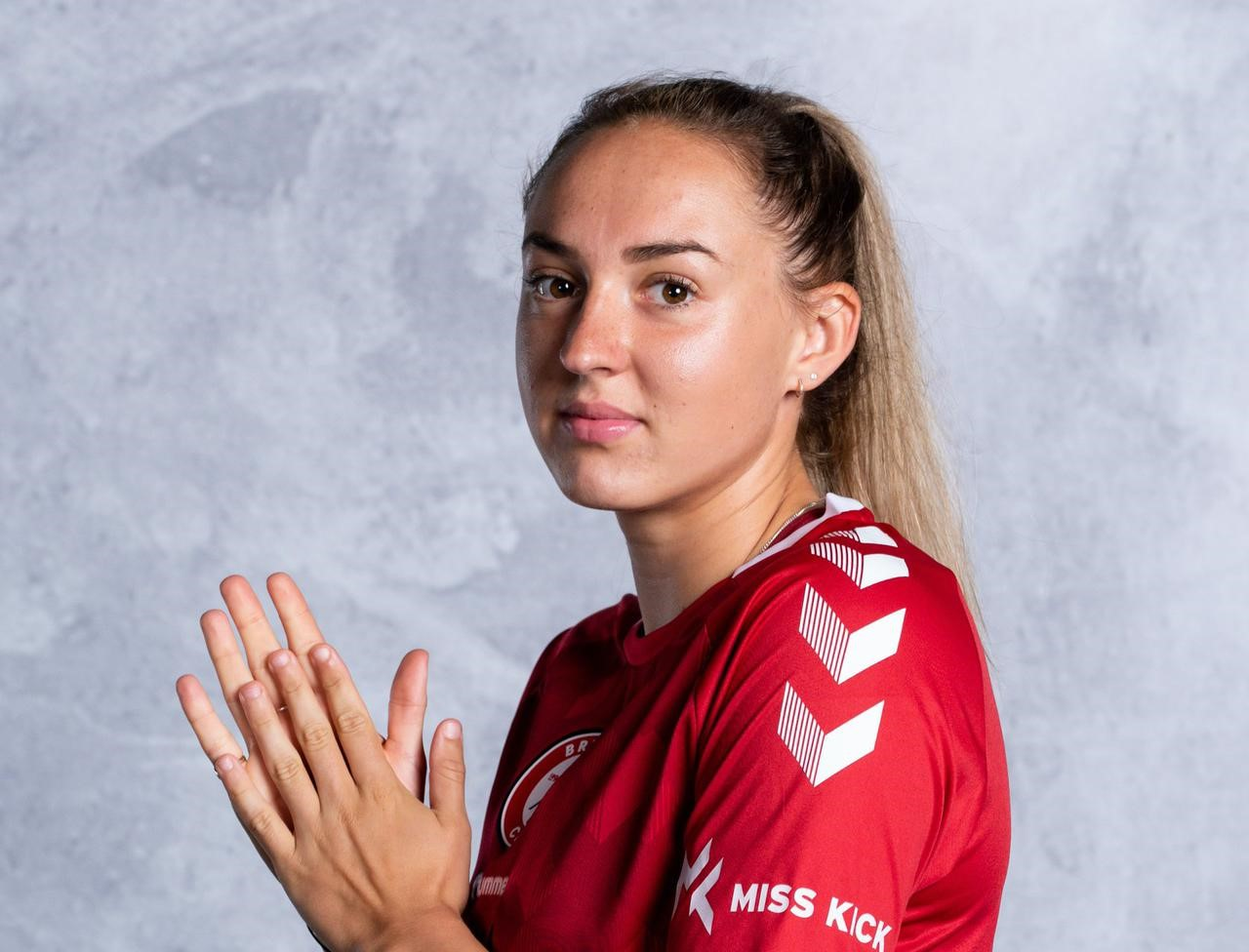 Bristol City's Aimee Palmer supports Jessie May charity