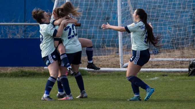 Cardiff City FC Women win with ten players