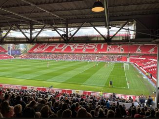 Over 4,400 watched the east midlands derby