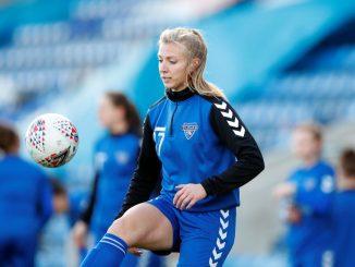 Durham's Emily Roberts got their second goal