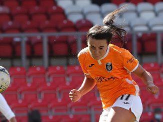 Glasgow City's Niamh Farrelly got the equaliser