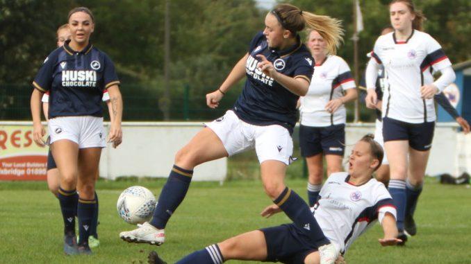 Millwall Lionesses won 2-1 at Denham United