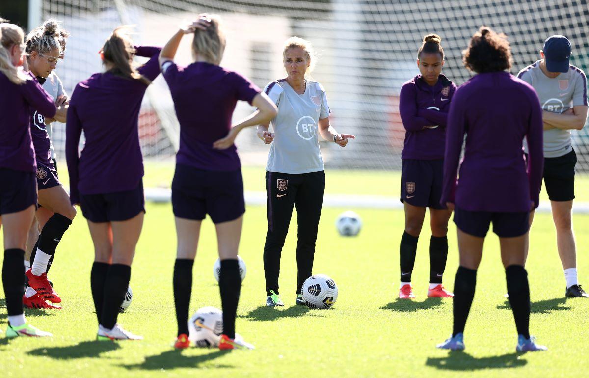 England squad training