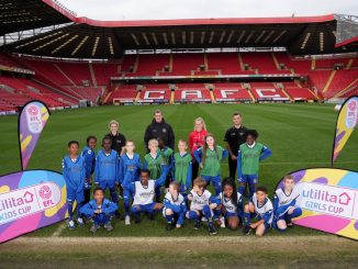 utilita girls cup launch at The Valley