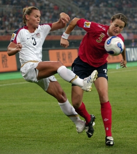 Christie Rampone, Casey Stoney