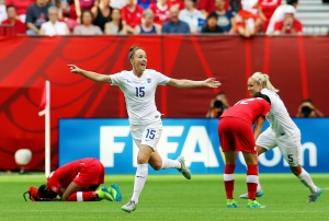 Soccer - FIFA Women's World Cup 2015 - Quarter Final - England v Canada - BC Place