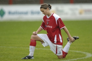 Soccer - FA Nationwide Women's Premier League - Charlton Athletic v Blackburn Rovers - Stonebridge Road