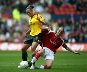 Soccer - FA Women's Cup - Final - Arsenal v Charlton Athletic - City Ground