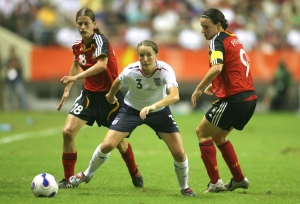 Soccer - FIFA Women's World Cup China 2007 - England v Germany - Shanghai
