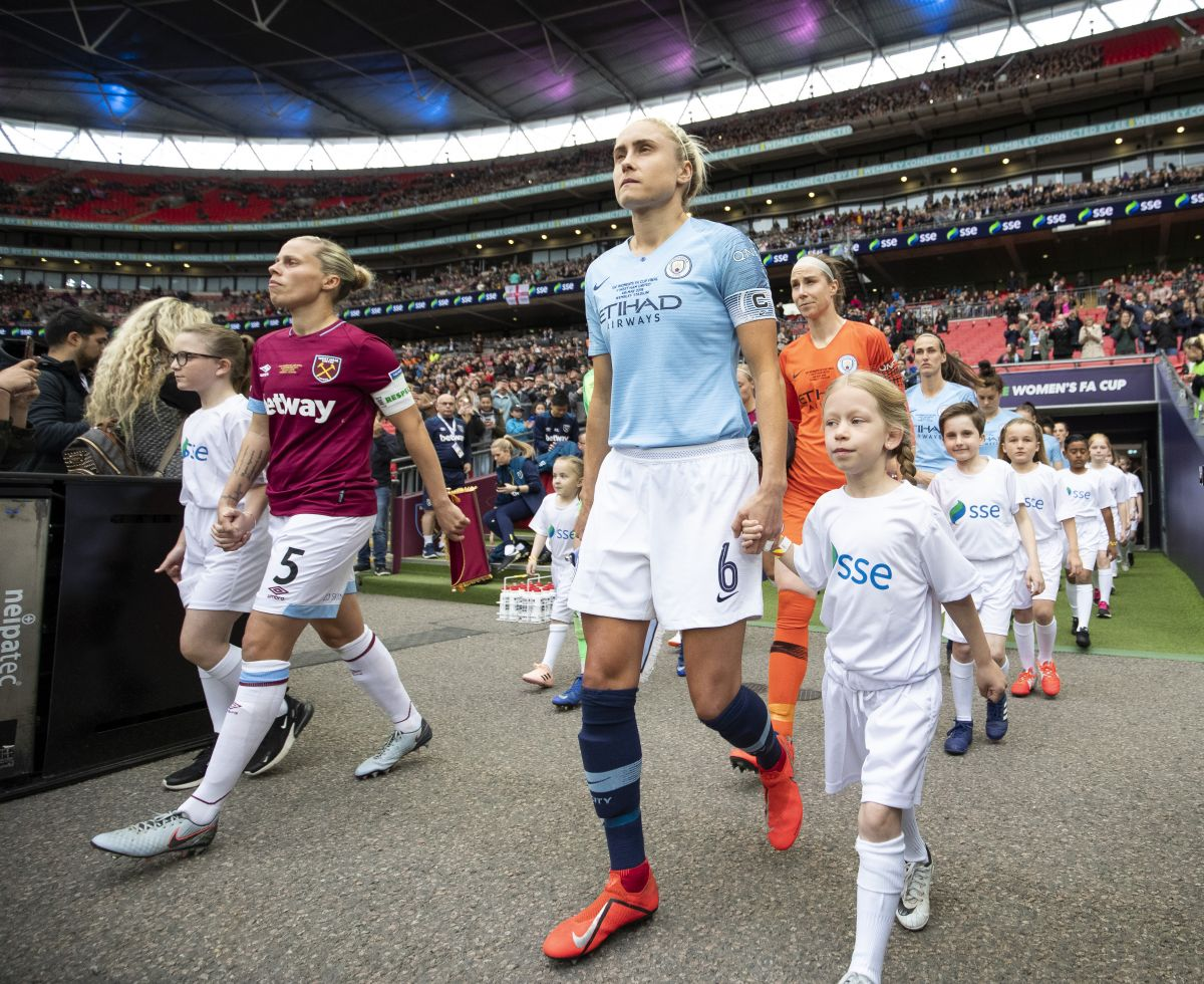 Manchester City Women v West Ham United Women SSE FA Cup Final - 04 May 2019