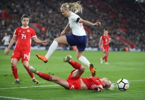 England Women v Wales Women - FIFA Women's World Cup 2019 - UEFA Qualifier - Group A - St Mary's Stadium